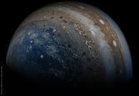 木星探査機ジュノーが捉えた木星の様子 - 秘密の世界        [The Secret World]