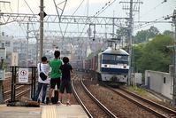 藤田八束の鉄道写真@素晴らしい貨物列車の写真、貨物列車の魅力と写真 - 藤田八束の日記