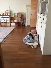 忙しくて洗濯物を畳めないので工夫しました。 - 『絆*整理収納』河合善水のブログ