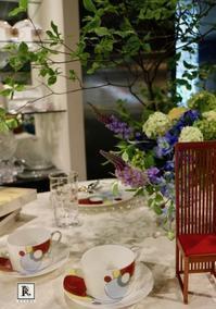 フランク・ロイド・ライト氏の6月8日(木)のお誕生日🎂に向け、6月5日(月)~10日(土)に生花を飾ります💐 - Bouquets_ryoko