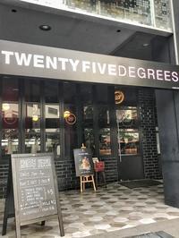 LA発のお洒落ハンバーガーを@Twenty Five Degrees - 日日是好日 in Singapore