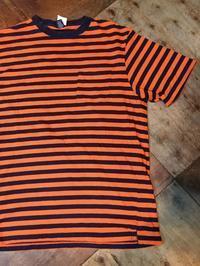 6月3日(土)入荷!80s~made in U.S.A  LANDS END BLK&ORENGE ボーダーTシャツ! - ショウザンビル mecca BLOG!!