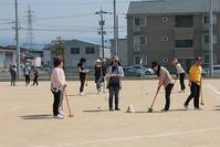 第1回戸板少連「グラウンドゴルフ」育成委員大会 - 金沢市戸板公民館ブログ