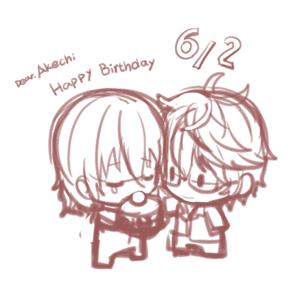 明智吾郎...!happy Birthday! - 『宴歌』