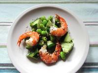 <イギリス料理・レシピ> アジア風エビとキュウリのサラダ【Prawn and Cucumber in Asian Style】 - イギリスの食、イギリスの料理&菓子