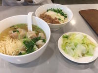 夕食は奇福扁食と度小月で麺づくし〜♪ - mayumin blog 2