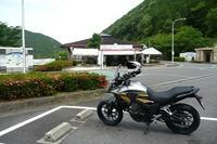 慣らし2日目終了 - マーチとバイク