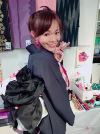 薔薇とリボンの季節展1日目 - 着物スタイリスト  山崎佳子 ブログ