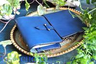 イタリアンバケッタレザー・アリゾナ・システム手帳と3本差ペンケース・時を刻む革小物 - 時を刻む革小物 Many CHOICE~ 使い手と共に生きるタンニン鞣しの革