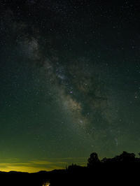 星峠の夜 - デジタルで見ていた風景