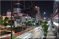 札幌夜景をスローシャッターで - 北海道photo一撮り旅