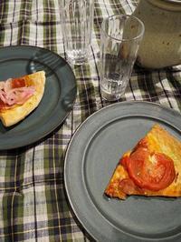 平野日奈子さんのコバルトリムパン皿 - うつわshizenブログ