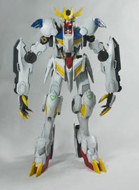 1/100 Full Mechanical Barbatos Lupus Rex - Pufferfiz's Model Workshop