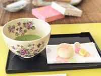 ポーセリン京焼きのお抹茶茶碗① - Noriko。の気まぐれ Diary       綺麗・可愛い・楽しい・幸せ!日記