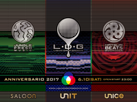 6/10 Liquid Drop Groove -ANNIVERSARIO 2017- @代官山Unit/Saloon/Unice - Tomocomo 'Shamanarchy'