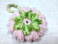 ☆ふっくら花のアクリルタワシ・パプコーン編み☆ - ガジャのねーさんの  空をみあげて☆ Hazle cucu ☆