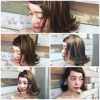 high light bob - 空便り 髪にやさしいヘアサロン 髪にやさしいヘアカラー くせ毛を愛せる唯一のサロン