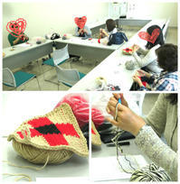 編んでます日々麻ひもで - 山麓風景と編み物