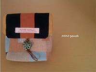 mini pouch - 君をのせて