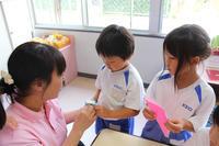 折り紙(なでしこ) - 慶応幼稚園ブログ【未来の子どもたちへ ~Dream Can Do!Reality Can Do!!~】