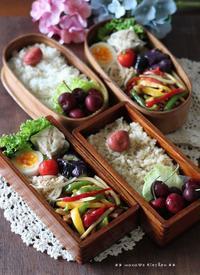 忘れかけの思い出(。◡‿◡)♪✿ bento&晩ご飯(๑¯﹃¯๑) - **  mana's Kitchen **
