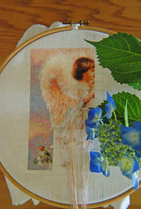 【趣味の刺繍】久しぶりのHAED。 - 浜松の刺繍教室 l'Atelier de foyu の 日々