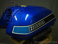 HONDA CB750FB タンクリペイント - カスタムペイント・スタジオグラッデン作業日誌