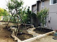 M邸造園工事③木曽石0610 - Healing Garden  ー草庭ー