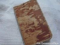 自宅使い旅の友に新しい根かがり手帳を - ロシアから白樺細工
