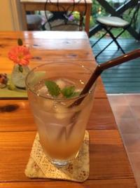 大人のジンジャーエール(手作りです〜♪) - おうちdeカフェ Little Rose Garden