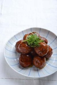 肉団子の甘酢あんかけ - 瞬速おつまみ!