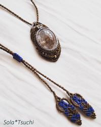 美しい石のペンダントたち - Sola*Tsuchi  花とアクセサリー