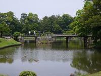 (滋賀・彦根)玄宮園(鳳翔台)でお抹茶 - 松下ルミコと見る景色