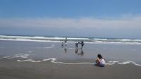 梅雨の晴れ間の九十九里浜 - 東金、折々の風景