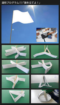 「旗を立てよ!」明石高専造形プログラム(1) - デザイン図解 〜カプリスの仕事図鑑〜