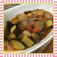 煮込んで冷やすだけ、簡単!ラタトゥイユ(ラタトゥーユ) - kajuの■今日のお料理・簡単レシピ■