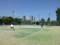 松寿会・松愛会初のテニス交流戦開催 - ようこそsyouju-hansin