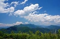 歴史道城山 - いぐさん流 山と花の写真(富士山)