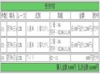 当ブログ初的中っす~☆ - 【TOWA】の最終レースのみ予想