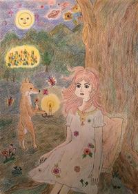 「幻のように、宇宙の中で」 - 独自の絵世界を模索、研究、追求するセブン子のブログ