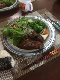 ステーキ - 庶民のショボい食卓