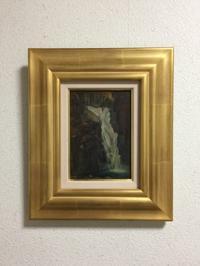 栗山清太郎 『飛瀧』1921年(大正10年)作 板に油彩 SM - MANOFAR マノファー