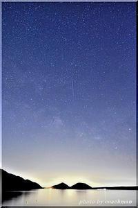 支笏湖で天の川 2(タイムラプス動画) - 北海道photo一撮り旅
