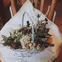 6月の1dayレッスン① - driedflower arrangement ✦︎ botanical accessory ✦︎ yukonanai ✦︎