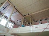 「通じる家/岡崎」天井パイン(マツ)羽目板張り - KANO空感設計のあすまい空感日記