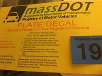 車の登録更新Registation Renewal - ハーバードで奮闘中、日本人救急医ブログ