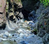 明神峡とまだ見ぬ池を探しに - 休日はタンデムツーリング