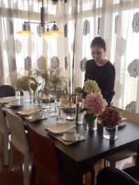 テーブルコーディネート講座1回目 - Table & Styling blog