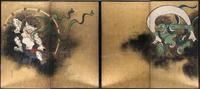 【尾形光琳「風神雷神図」に耽溺する時間】 - 性能とデザイン いい家大研究