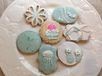 Summerアイシングクッキー復習 - 調布の小さな手作りお菓子教室 アトリエタルトタタン